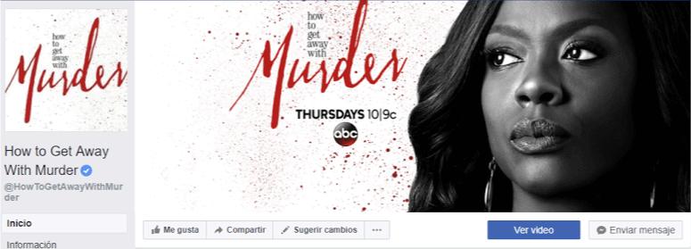 """Imágenes para Facebook - imagen de la foto de portada de la fanpage de """"How To Get Away With Murder"""""""
