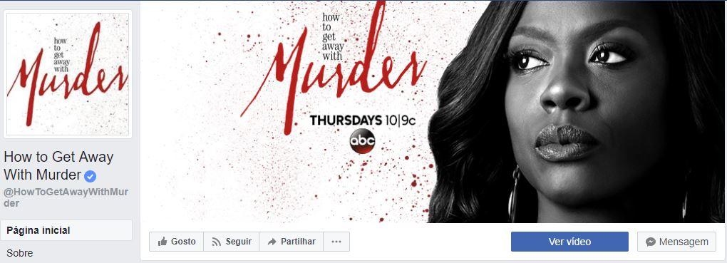 imagens para o facebook - imagem da página de 'How to get away with murder'.
