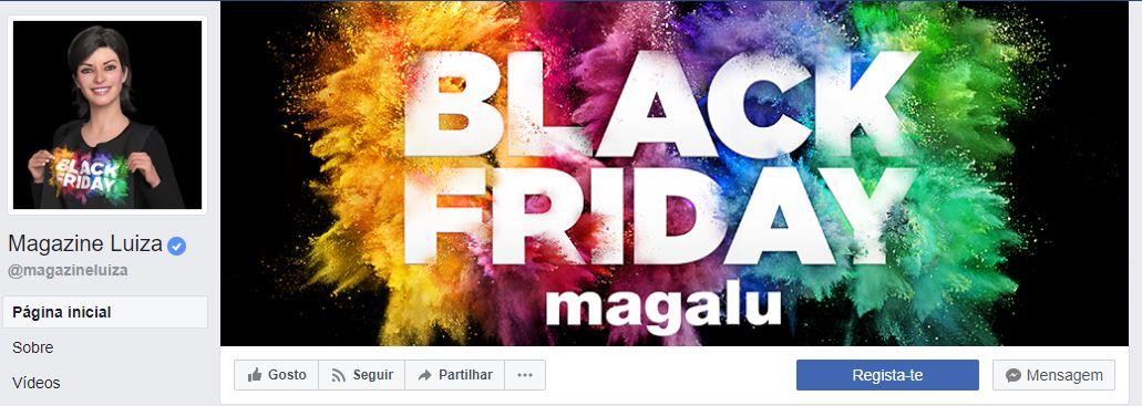 imagens para o facebook - imagem de propaganda black friday magalu