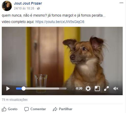 imagens para o facebook - imagem de um vídeo postado no facebook