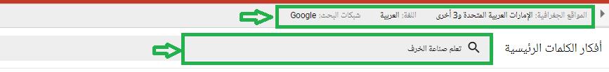 في الصورة تحديد الموقع الامارات وغيرها، اللغة العربية والموضوع تعلم صناعة الخزف