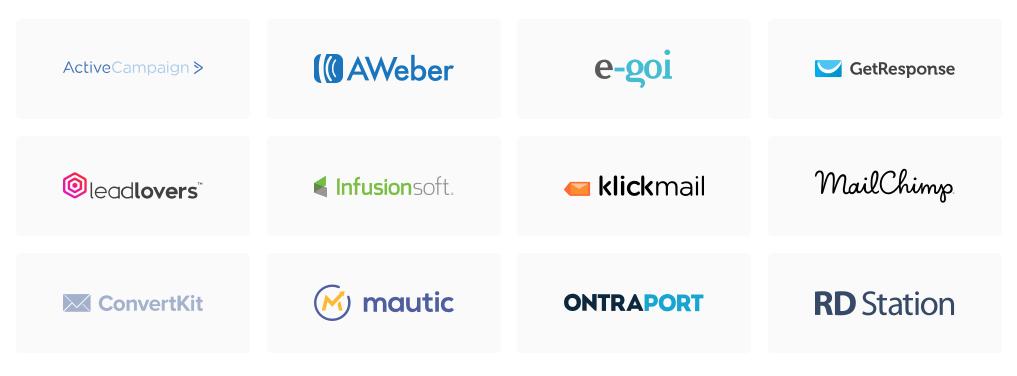 Lista de provedores de email marketing integrados às ferramentas da Hotmart.