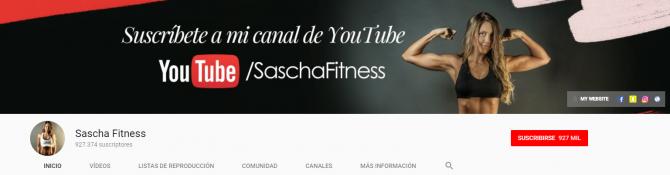 Negocios innovadores - Sascha Fitness