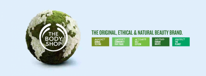 Negocios innovadores - The Body Shop