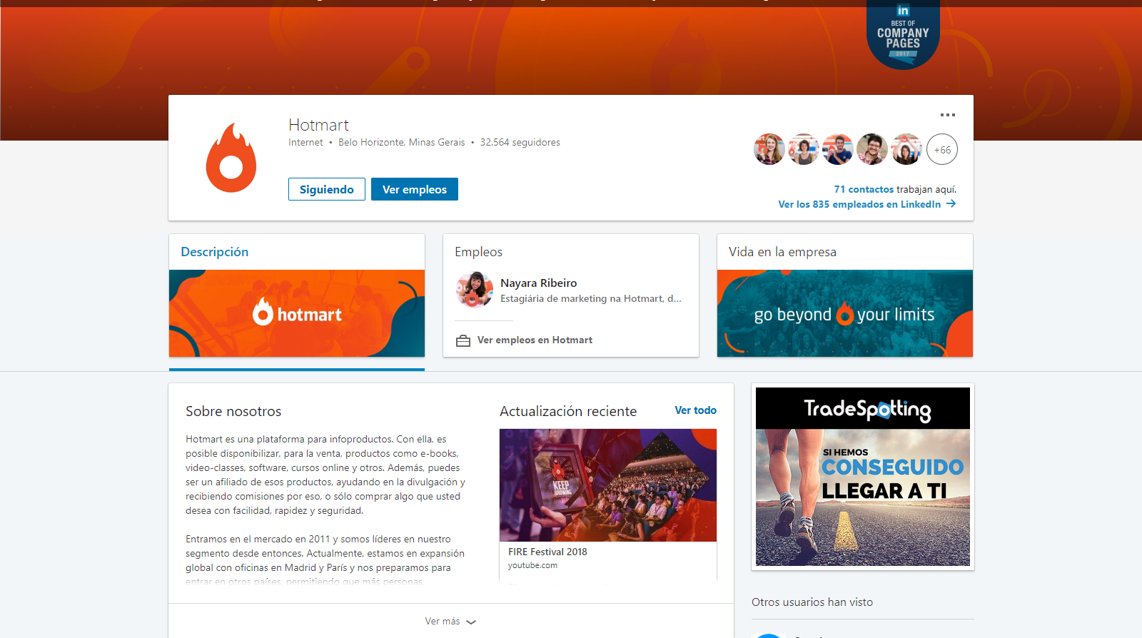 imágenes de redes sociales - perfil de linkedin