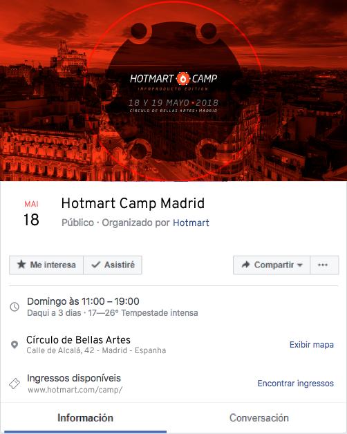 imágenes de redes sociales - ejemplo de evento en Facebook