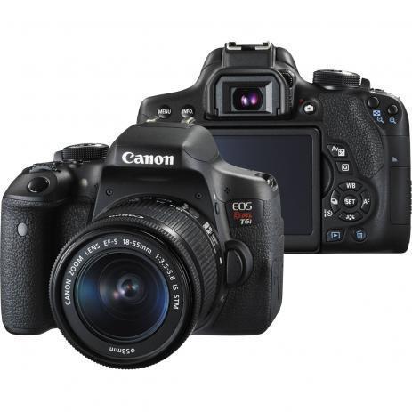 producción de vídeos- Cámara Digital Canon T6i DSLR