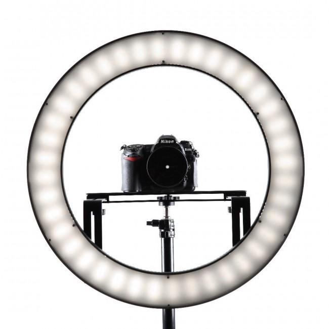producción de vídeos - ring light