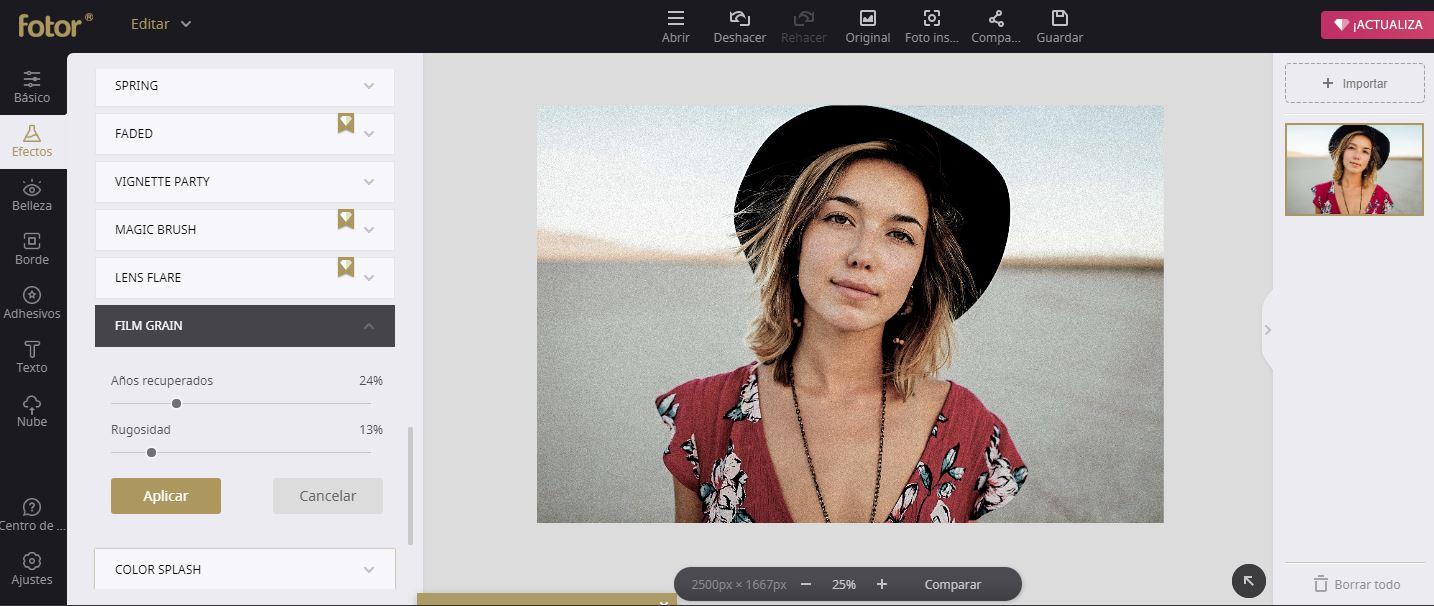 cómo usar Fotor 4