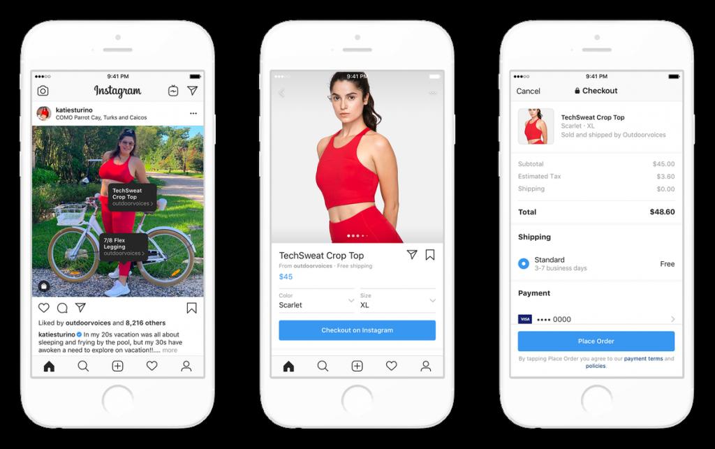 Novidades do Facebook - Plataforma de vendas