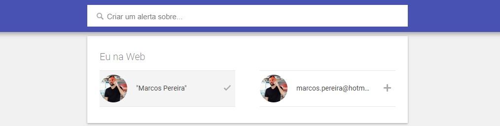 google alerts - como criar um alerta 3