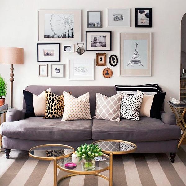 criar cenário com quadros na parede