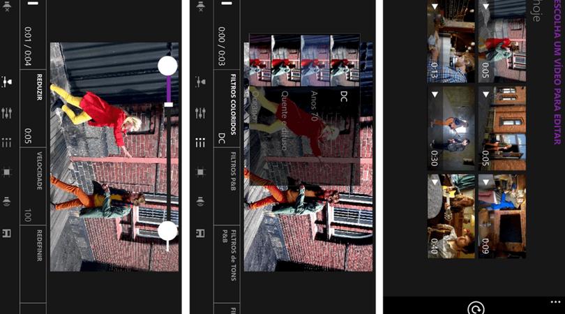 aplicativo para gravar vídeo