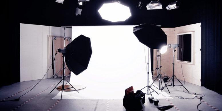 luz para filmagem