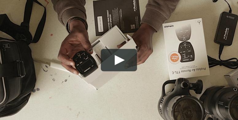vídeo de demonstração de produto