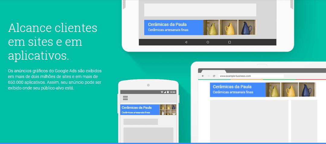 google adwords anuncios na rede de display