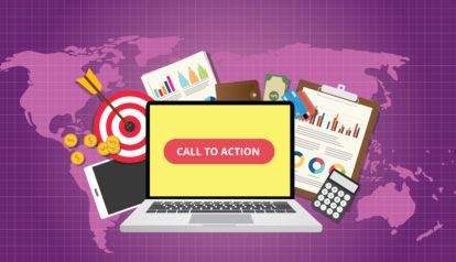 call to action em vídeos