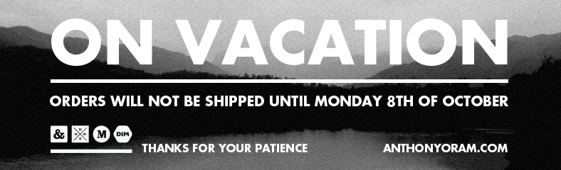 Vacation Mode banner - anthony oram