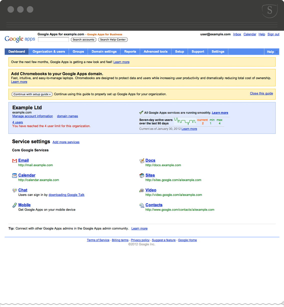 How to point google domains at SupaDupa - Domain name guide: Enom (Via Google Apps)