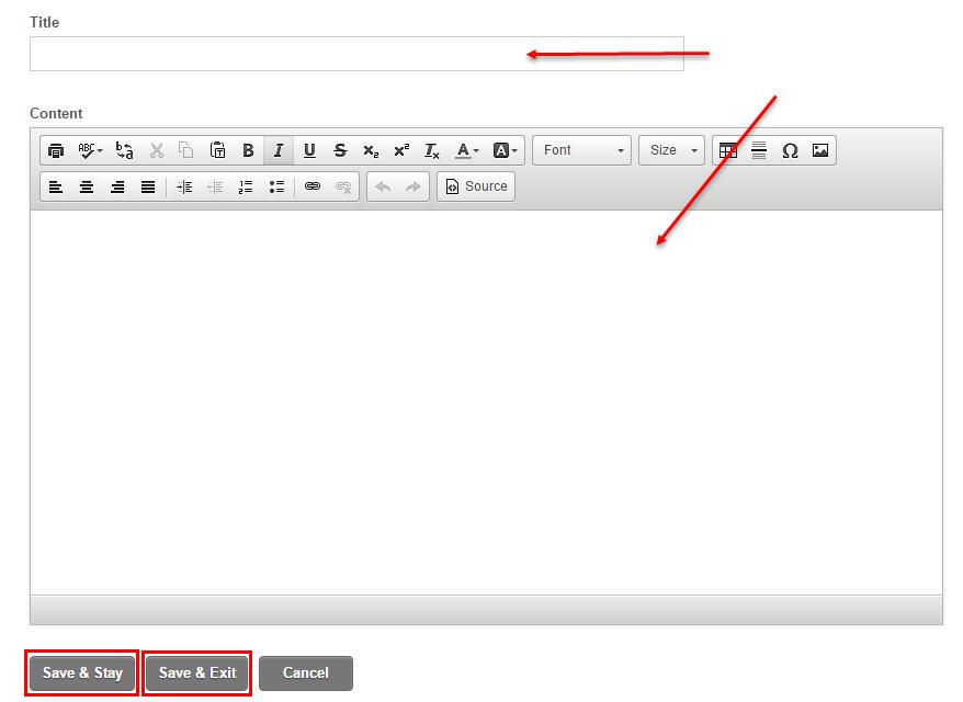 Create a Newsletter Template   Portalbuzz Help Center
