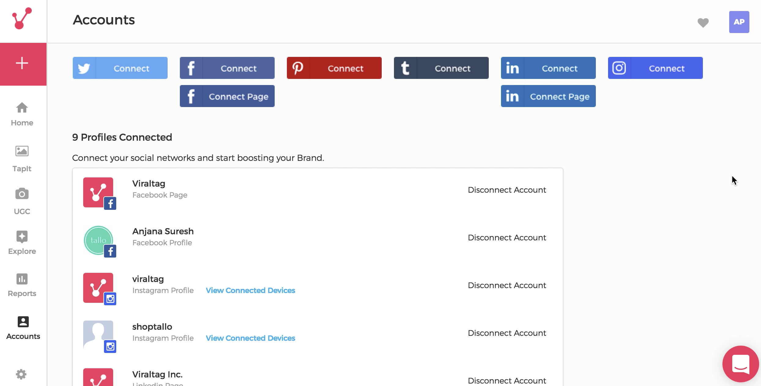 Connect your Facebook Account   Viraltag Help Center