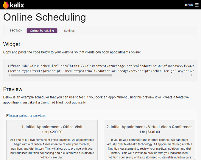 Appointment & Scheduling Overview | Kalix EMR Help Center