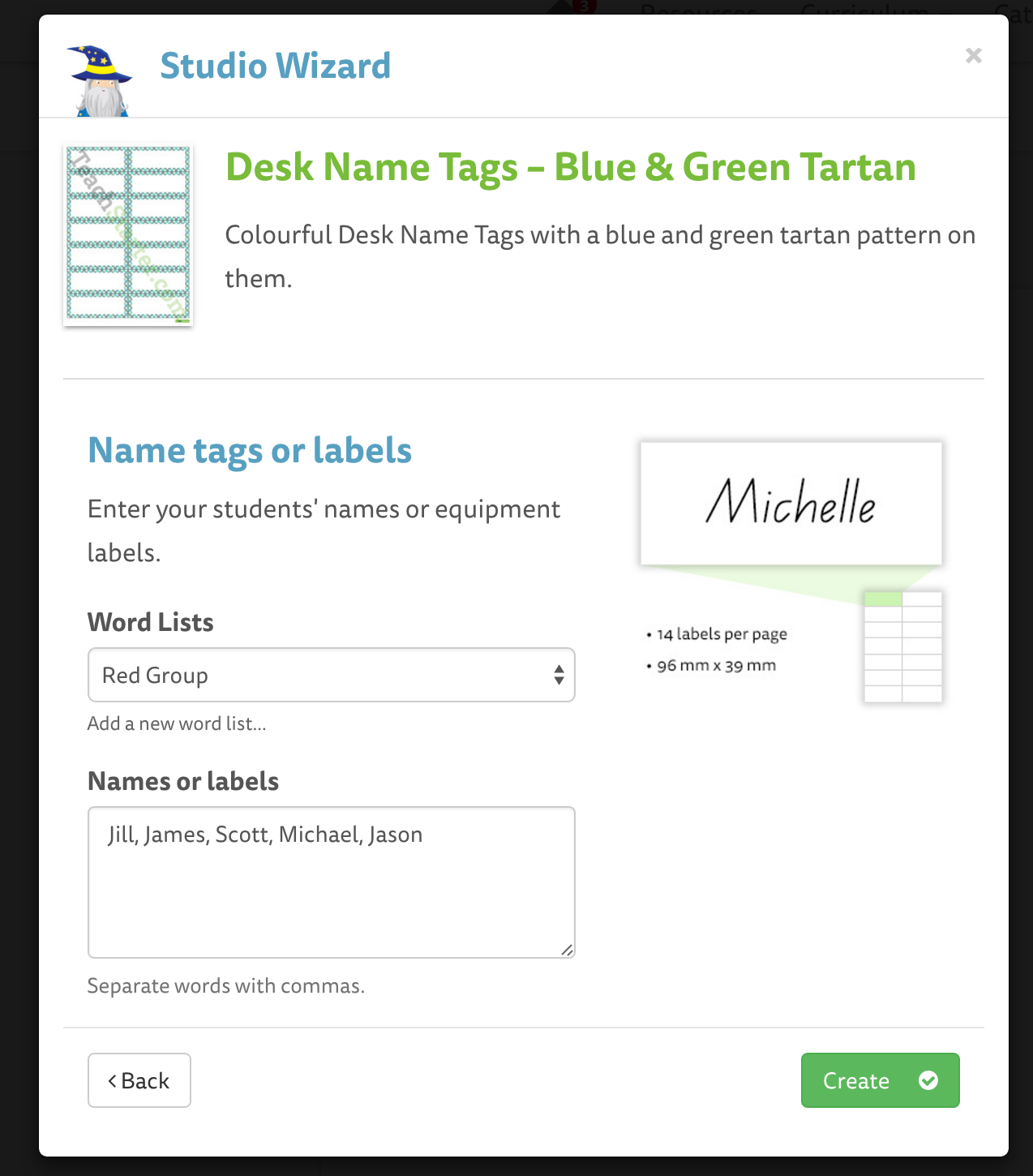 adding your students names automatically teach starter help desk