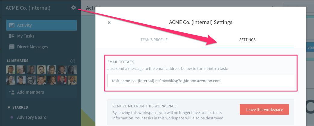 From The Email Address That Is Linked To Your Azendoo Account Send Or Forward An Task Once Matched With Profile