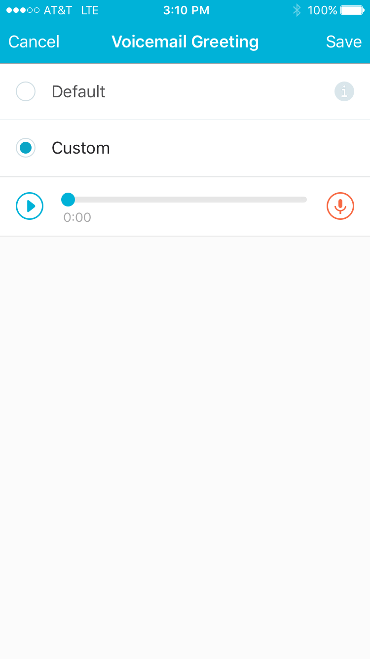 Custom Voicemail Spruce Help Center