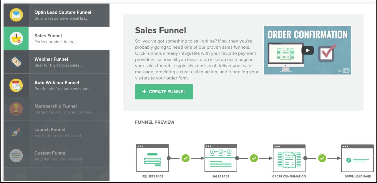 Setup Your First Sales Funnel | ClickFunnels Help Center