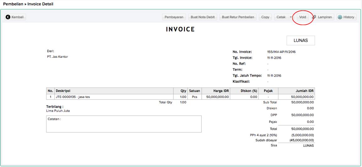 Membatalkan Invoice Pembelian Sleekr Accounting Help Center - Invoice jasa