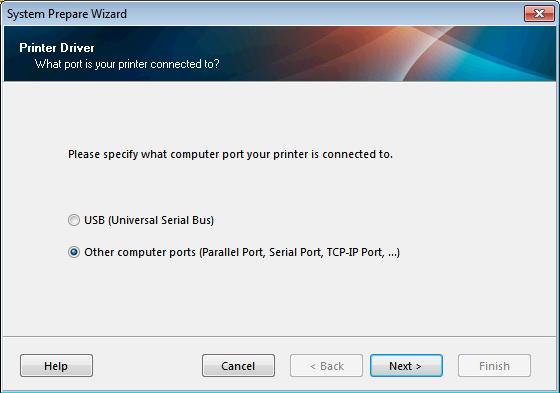 Installing a Zebra LP 2824 Plus printer on Windows
