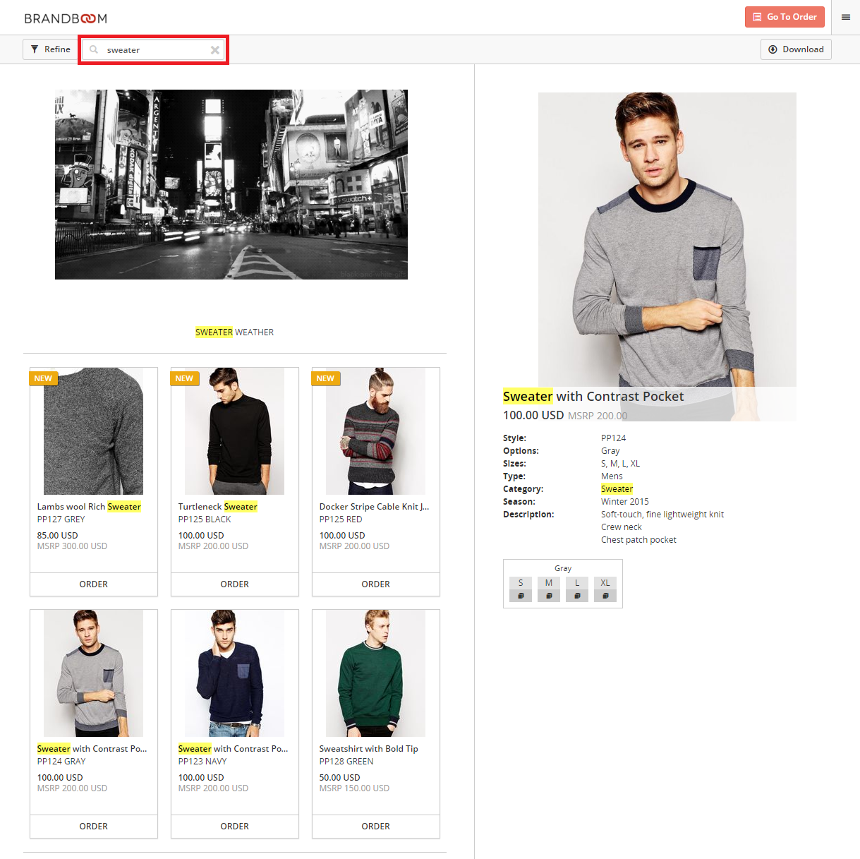 Search for a product by - 1 Buyers Can Use The Search Bar At The Top Of The Presentation To Search For A Product