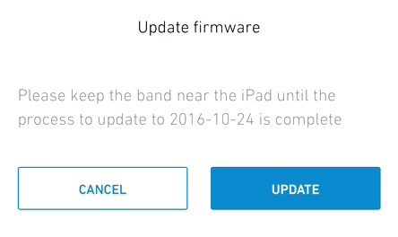Readiband 4: Updating firmware on Readibands | Fatigue