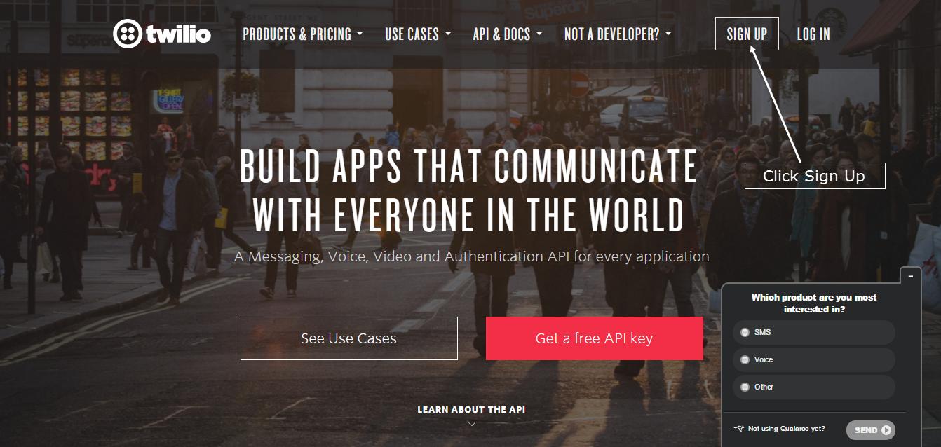 Twilio SMS Integration - HAPPY WIFI | HAPPY WIFI - Republica