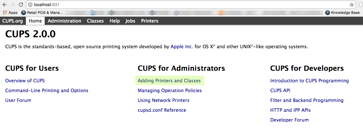 how to add printer to mac usb