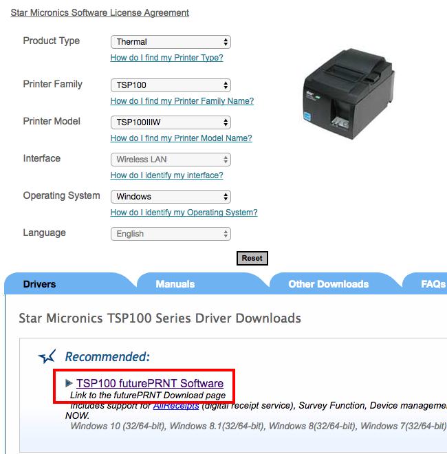 TSP100 futurePRNT Receipt Printers – Voucher printing ready