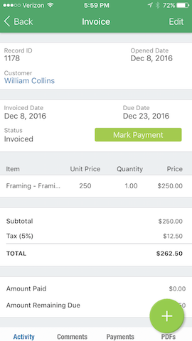 Square Payments Integration FieldPulse Help Center - Square invoice fee