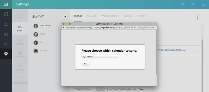 microsoft office calendar