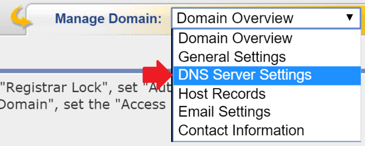 Changing your Name Servers (DNS) at eNom | BigScoots