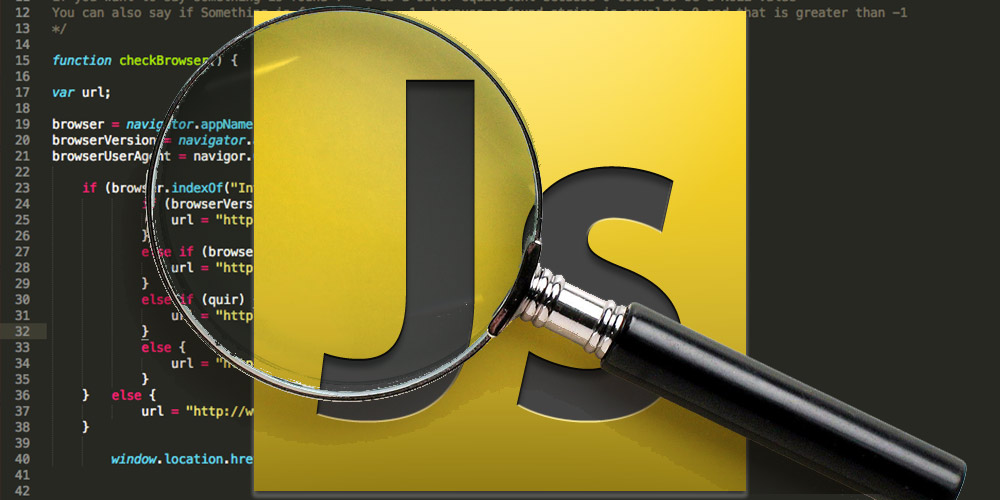 Searching a string in Javascript