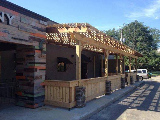 13 kickass patios in the dayton area item 8 - Restaurant Patio