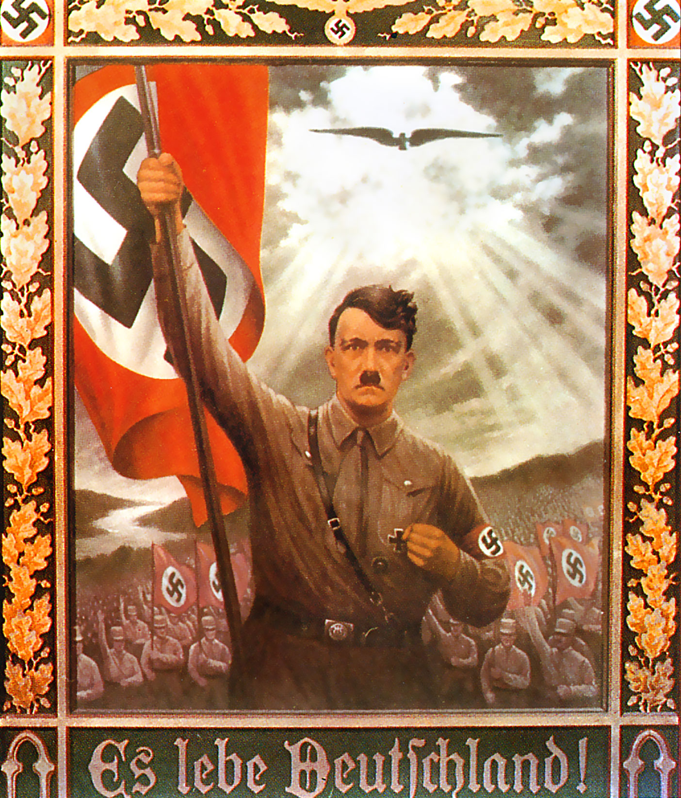 adolf hitler and the soviet propaganda Adolf hitler was in charge of germany for 12 years (1933-1945) hitler started the war and made all resolutions during world war 2 for germany adolf hitler started the war because he wanted germany to be enlarged so he fought for more land.