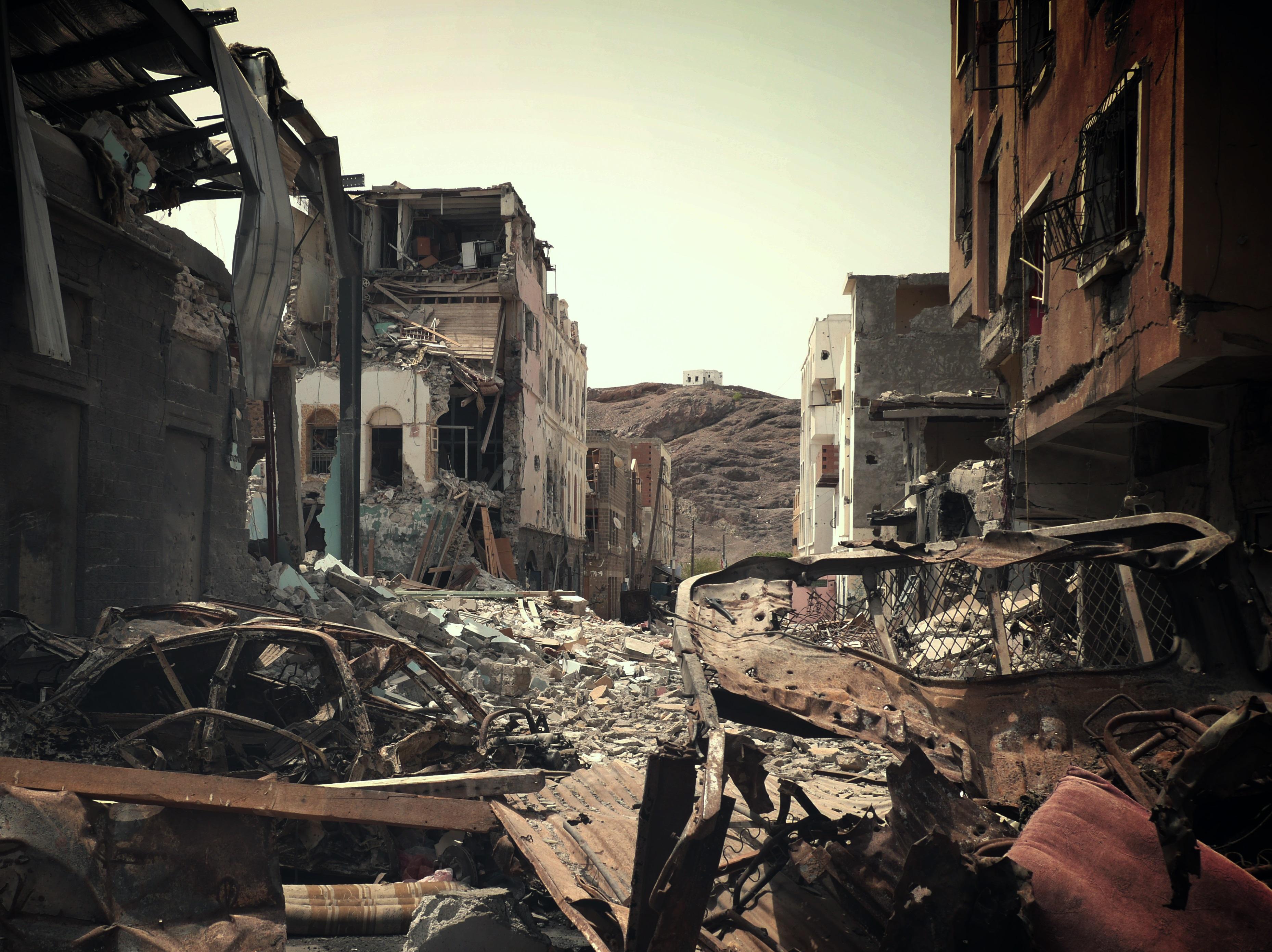 StoryMapJS: Civilian deaths evidence of war crimes in Yemen