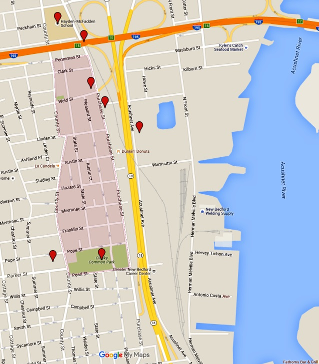Story Map Acushnet Heights southcoasttodaycom New Bedford MA