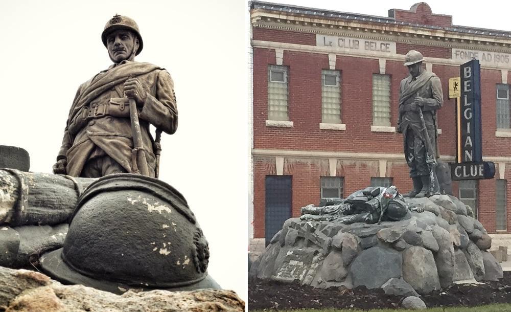 Le Monument belge à Saint-Boniface est à réparer