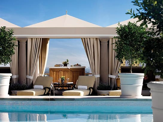 Rooftop Pool & Cabanas