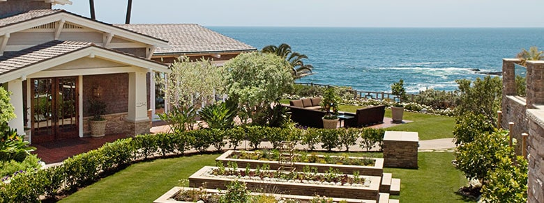 Montage Laguna Beach Garden Overlooking the Pacific Ocean