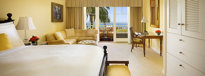Montage Laguna Beach Luxury Ocean Horizon Hotel Guestroom