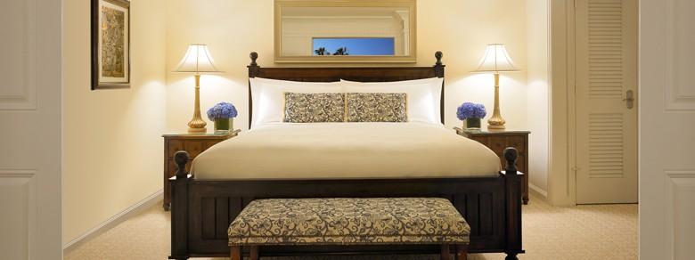 Luxury Montage Hotel Sunset Suite Bedroom